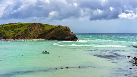 a nice sandy beach...